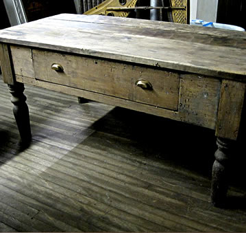 Reclaimed and Salvage Furniture  Tables  desks  benches. Restoration Resources   New England s Primary Source for Authentic