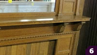 Restoration Resources Quartersawn Wood Mantel