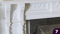 Carved Oak Mantel